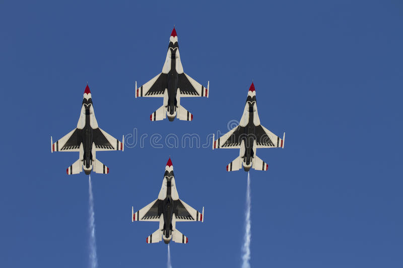 Download United States Air Force Thunderbirds Editorial Stock Image - Image of government, demonstration: 24411609