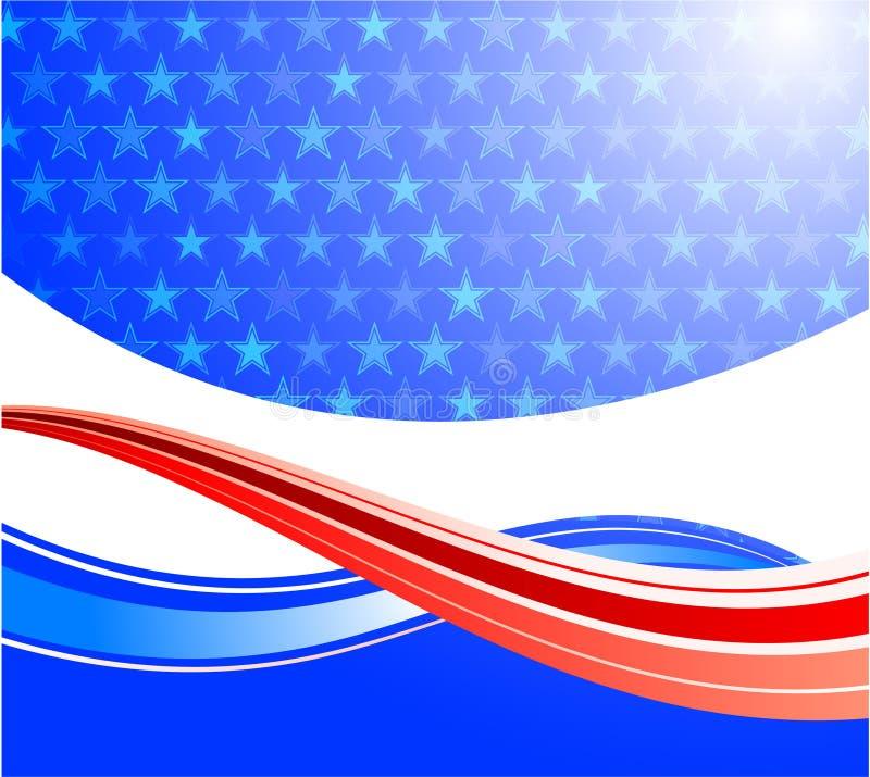 United States of America background royalty free stock image