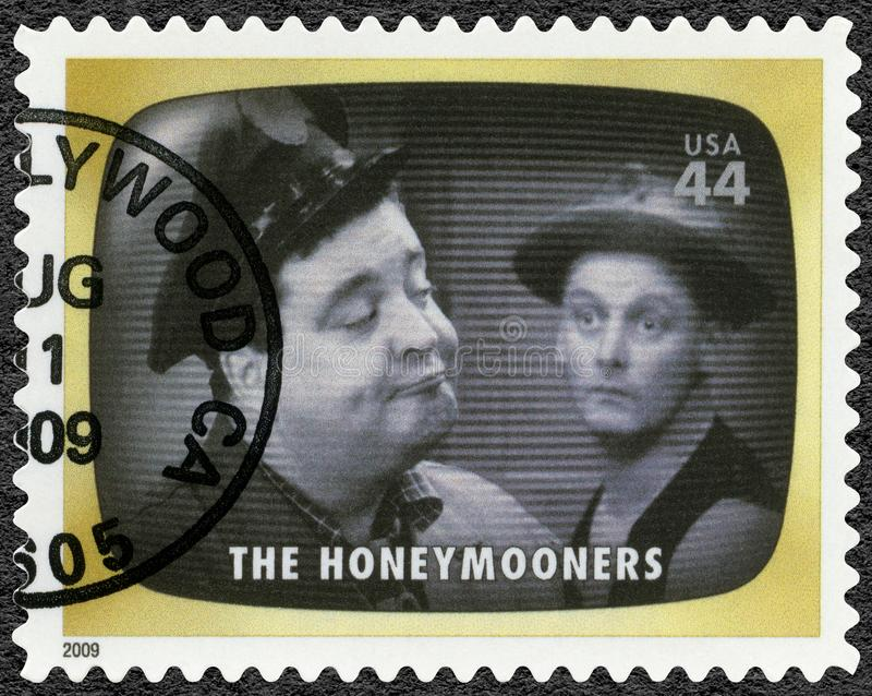 USA - 2009: shows The Honeymooners, Early TV Memory stock photography