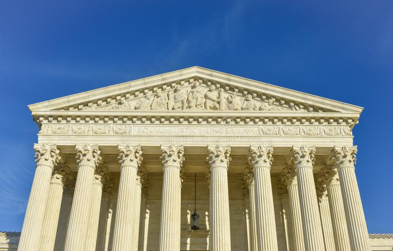 United States of America Supreme Court Building royalty free stock photography