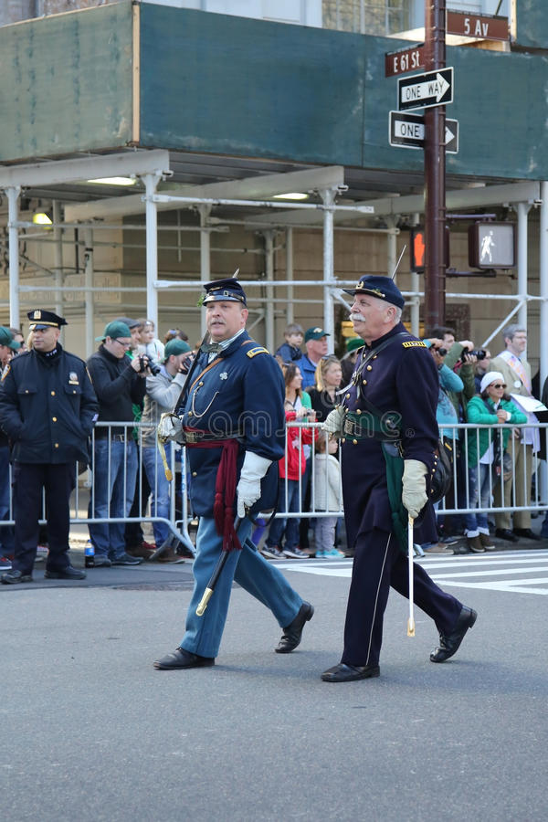 Download United States Army Rangers Marching At The St. Patrick`s Day Parade In New York. Editorial Image - Image: 88388505