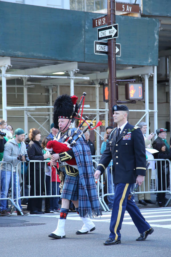 Download United States Army Rangers Marching At The St. Patrick`s Day Parade In New York. Editorial Stock Photo - Image: 88388518