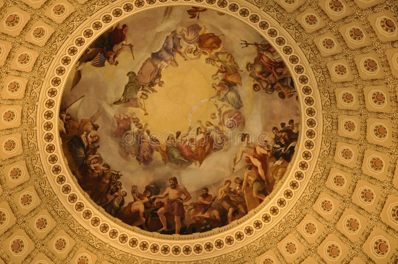 United States Capital Dome Stock Photo