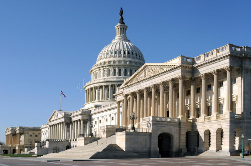 Download The United States Capitol Building Stock Image - Image: 21539085