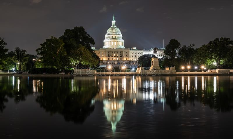 United States Capitol Building in Washington DC. royalty free stock photo