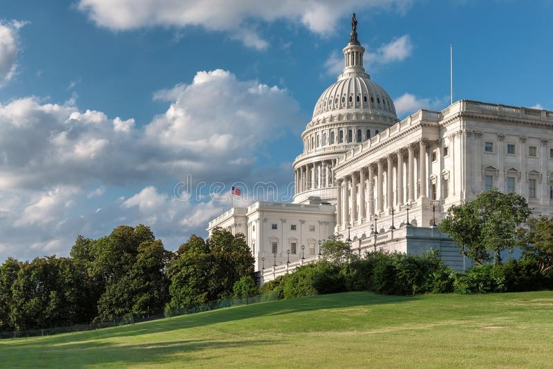 United States Capitol building in Washington DC. stock photos