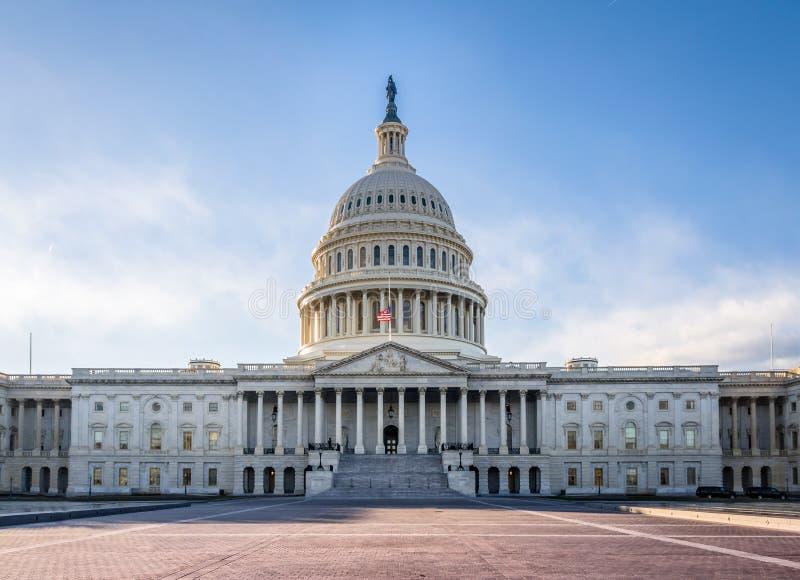 United States Capitol Building - Washington, DC, USA. United States Capitol Building in Washington, DC, USA royalty free stock images