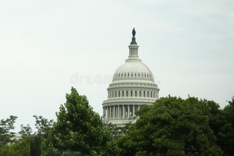 United States Capitol Building in Washington DC,USA.United State stock image