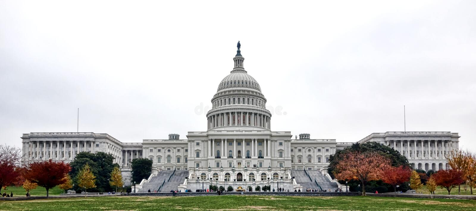 United States Capitol Building in Washington DC stock photo