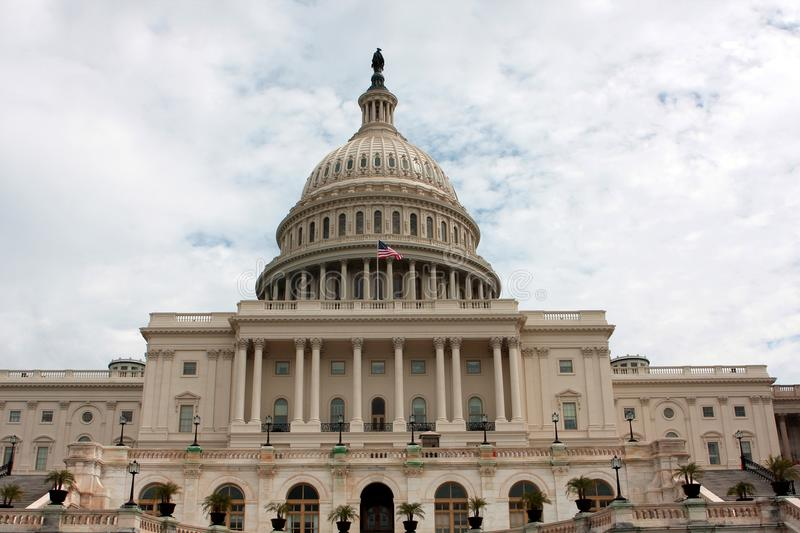 The United States Capitol, Washington DC. The United States Capitol, or Capitol Building, located on Capitol Hill in Washington, D.C stock images