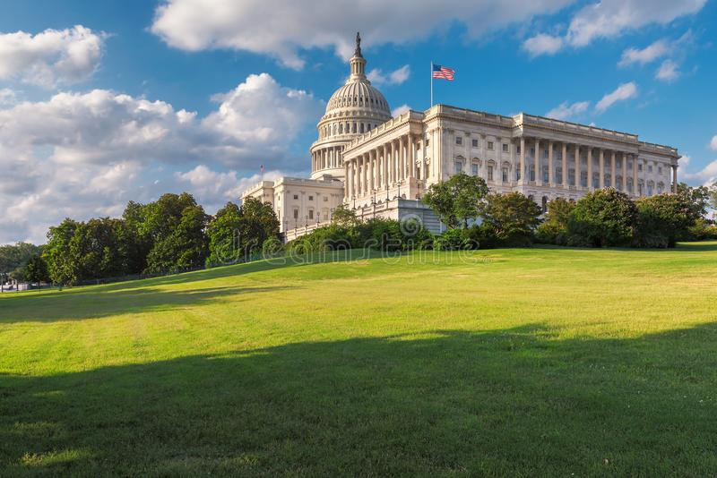 Washington DC, The United States Capitol on Capitol Hill stock photos