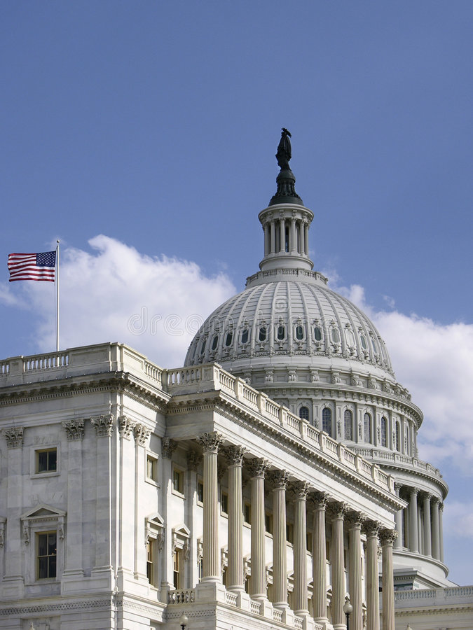 Download United States Capitol_Side Vie Stock Images - Image: 4052834