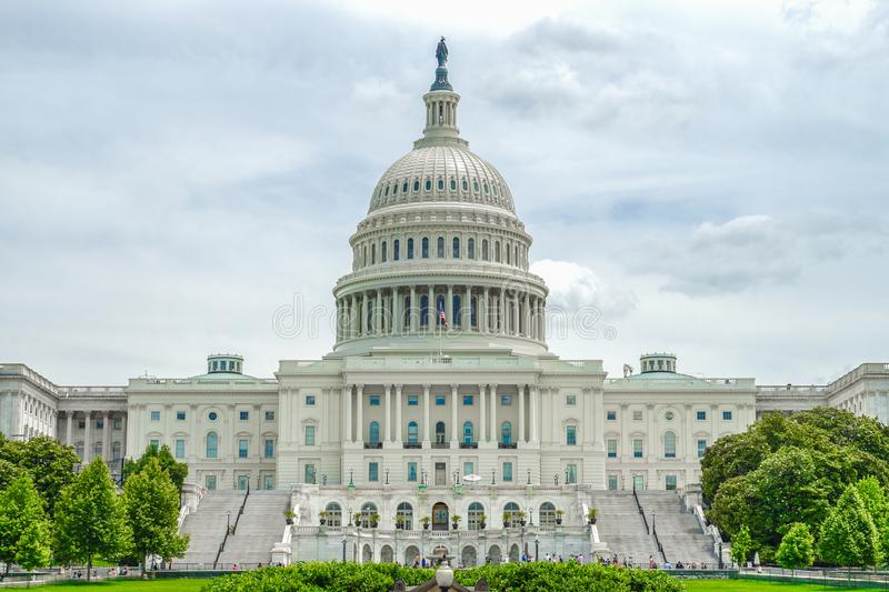 United States Capitol United States Capitol. Shooting location : Washington, DC royalty free stock images