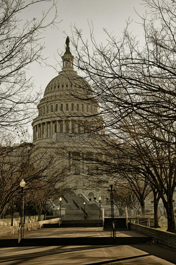 United States Capitol, USA royalty free stock photography