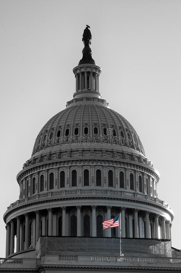 United States Capitol, USA royalty free stock photo