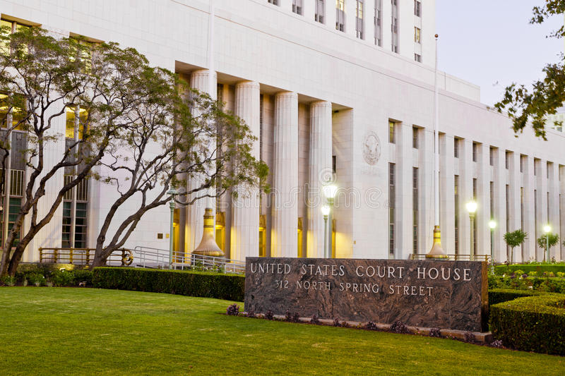 Download United States Court House In Los Angeles Editorial Image - Image: 20806020