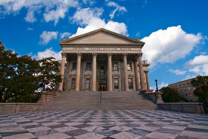 United States Custom House Stock Photo
