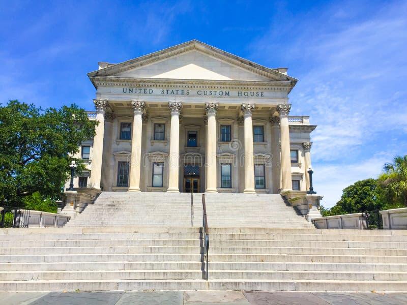 United States Custom House, Charleston, SC. United States Custom House located on East Bay St. in Charleston, SC royalty free stock images