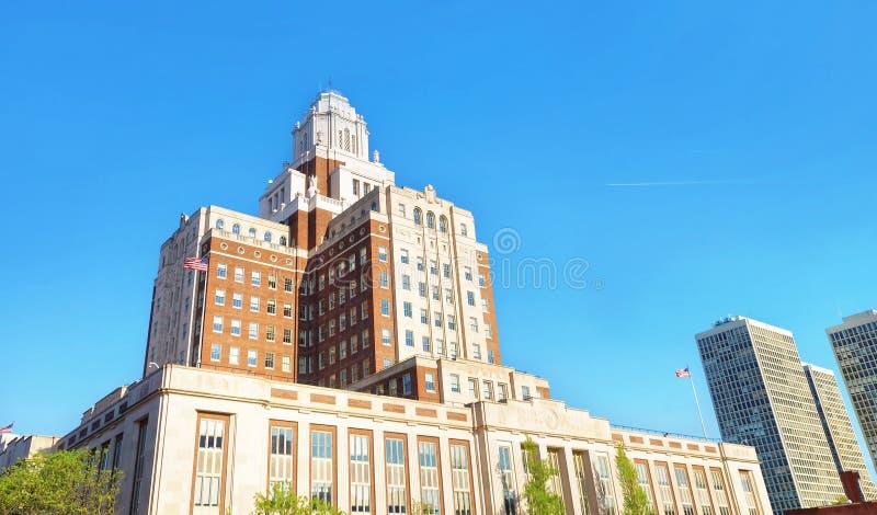 United States Custom House in Chestnut Street in Philadelphia. Pennsylvania, USA royalty free stock photo