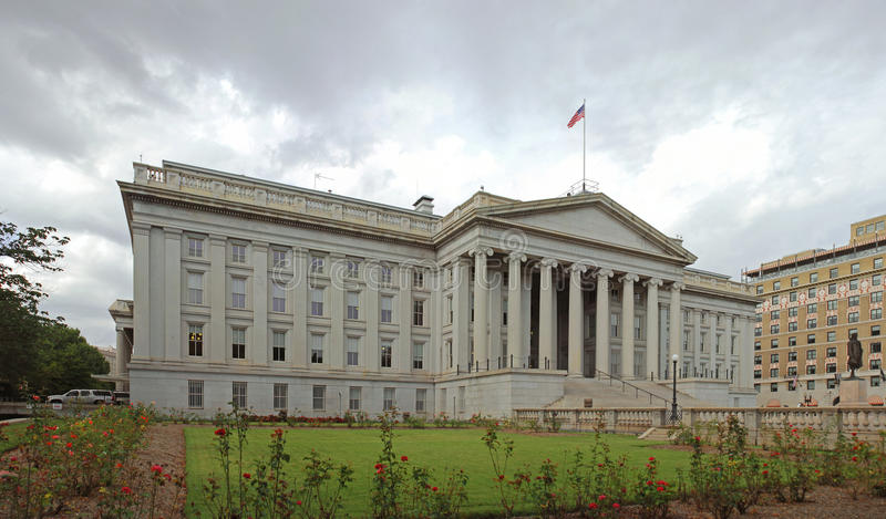 Download United States Department Of Treasury Stock Image - Image: 17687237