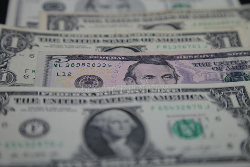 United States Dollar - Banknotes closeup stock photos