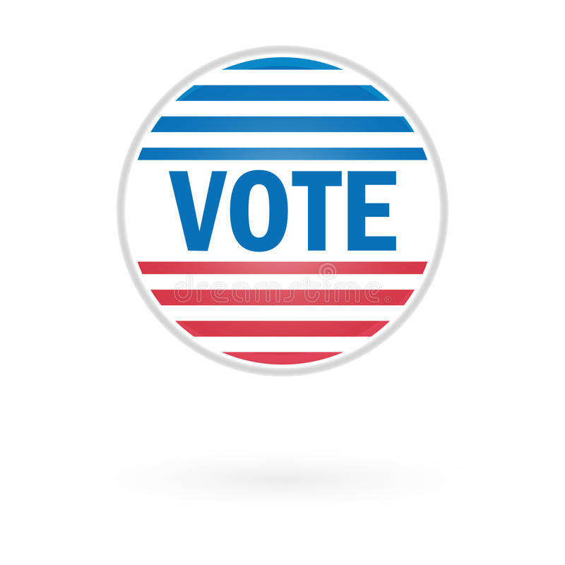 Download United States Election Vote Button Stock Illustration - Image: 27178187