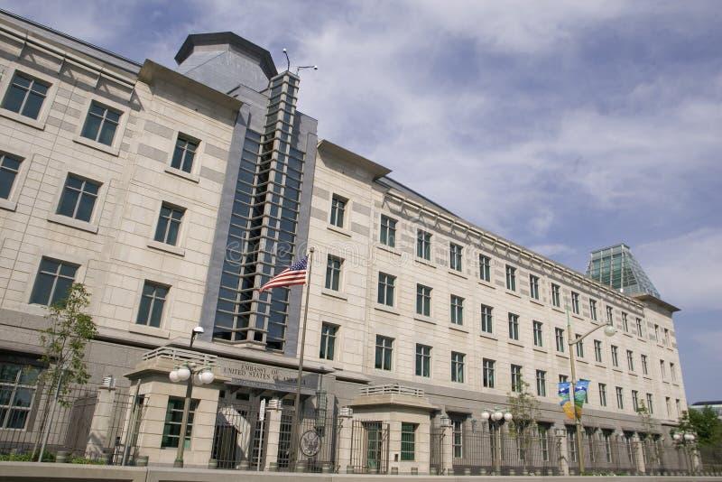 United States Embassy. In Ottawa, Canada royalty free stock photography