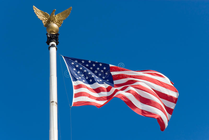 Download The United States flag stock photo. Image of scene, national - 13152306