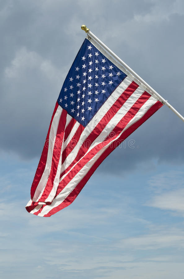 Download United States Flag stock image. Image of american, blue - 26432487