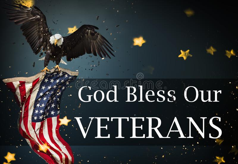 United States Flag. Veterans Day Concept. Background with united States Flag. Veterans Day Concept stock image