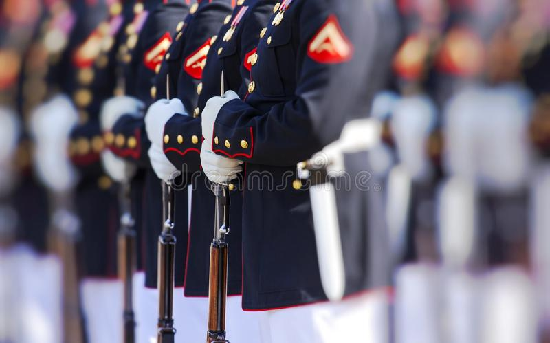United States Marine Corps. In NY stock photo