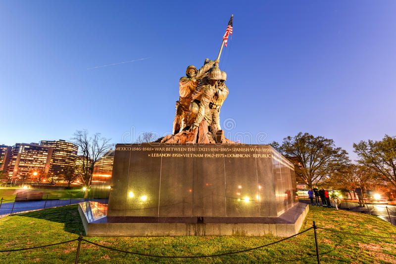 United States Marine Corps War Memorial royalty free stock images