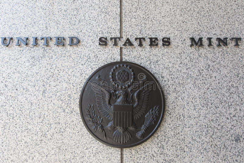 United States Mint royaltyfria foton