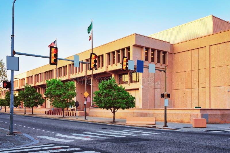 United States Mint Building in Philadelphia PA. Pennsylvania, USA royalty free stock photos