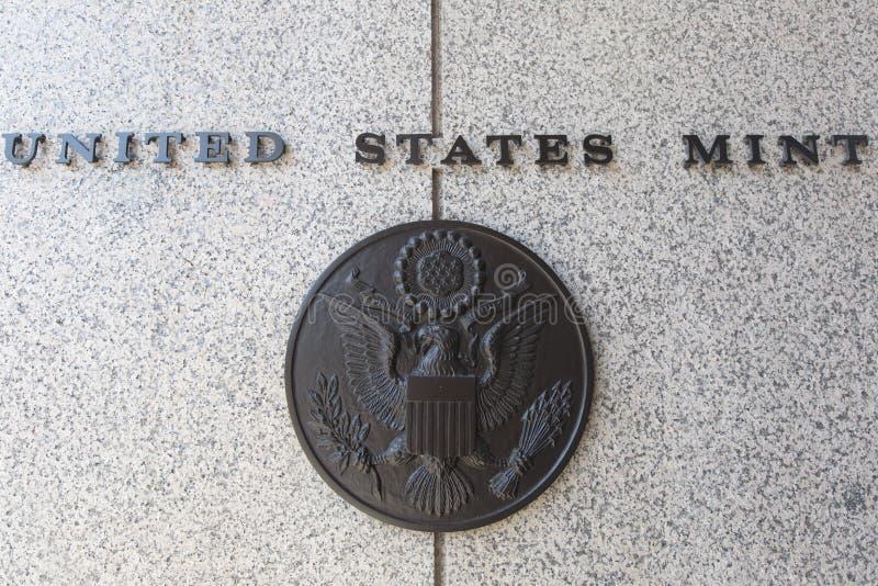 United States Mint. United States mint Philadelphia, Pennsylvania, America royalty free stock photos