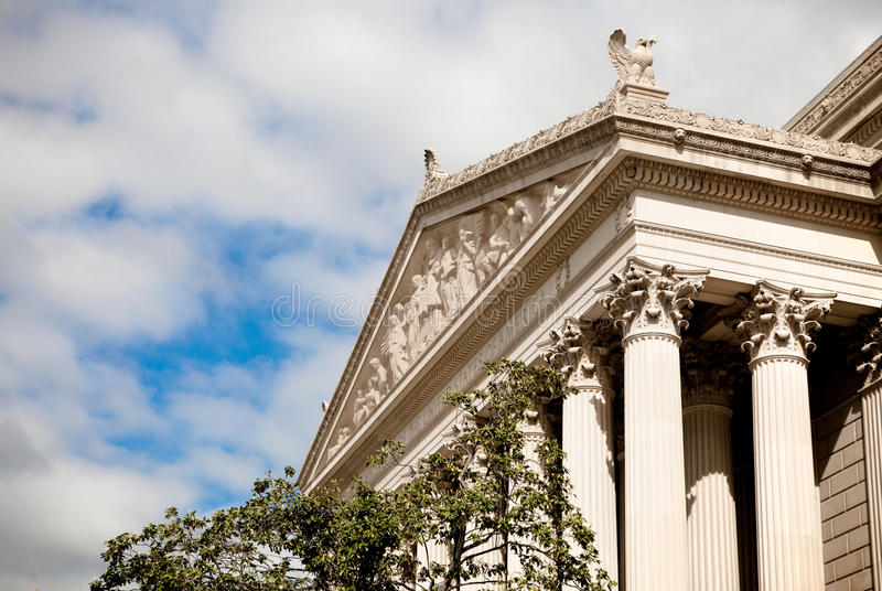 United States National Archives Building stock photo