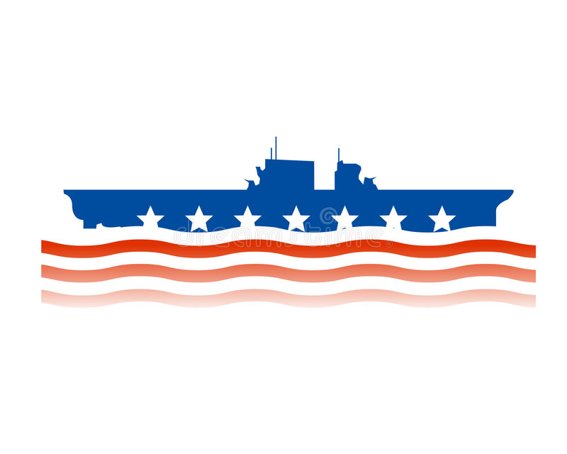 United States Navy Design Royalty Free Stock Images