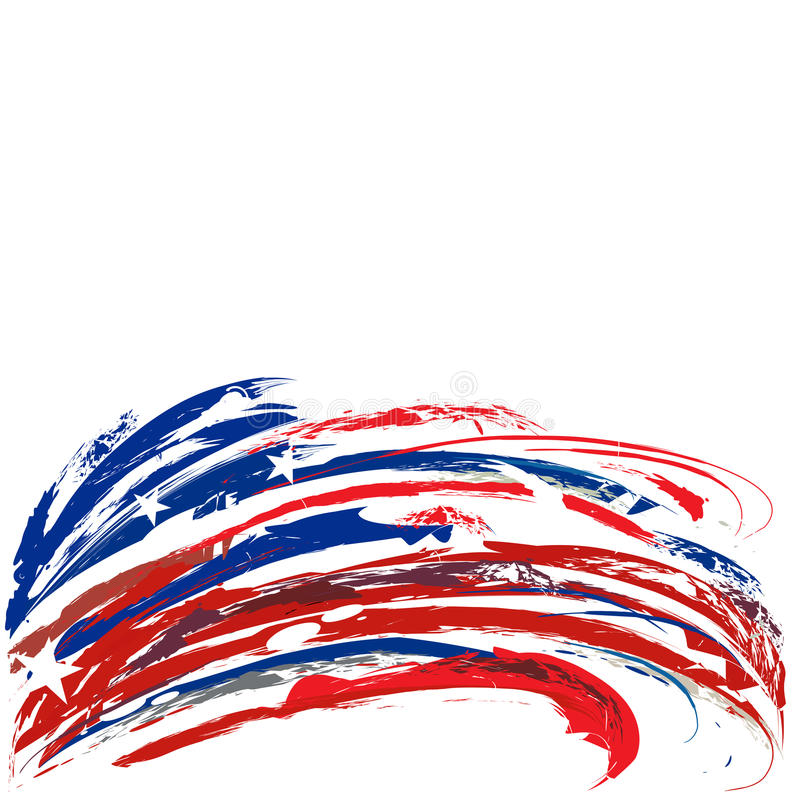 united states patriotic footer design with stars and stripes for rh dreamstime com stars and stripes clipart add text stars and stripes images clipart