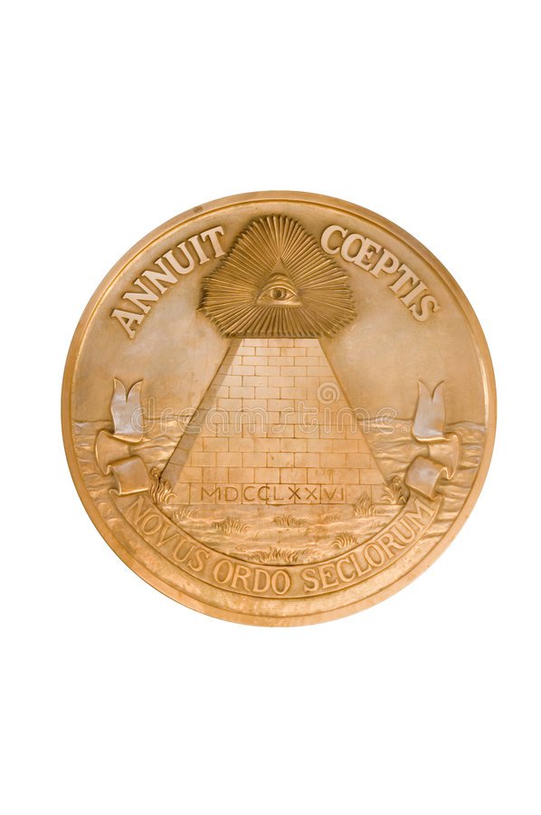 Download United States Pyramid Seal stock photo. Image of conspiracy - 4923292