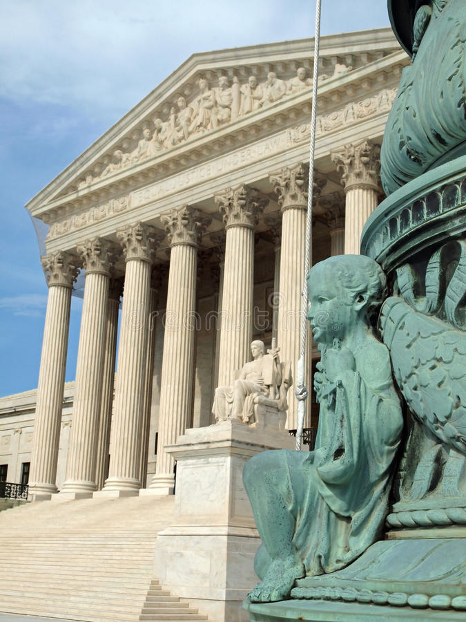 Download The United States Supreme Court Stock Image - Image of landmark, front: 19985775