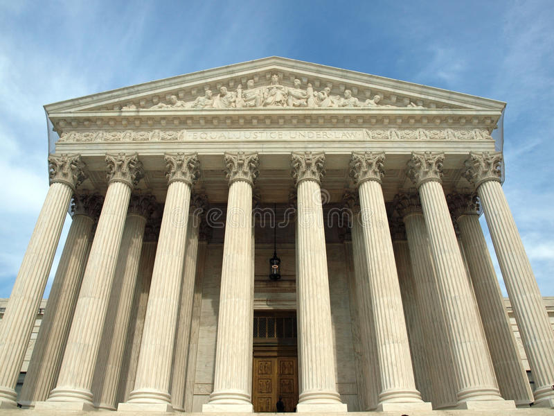 Download The United States Supreme Court Stock Image - Image: 19985799