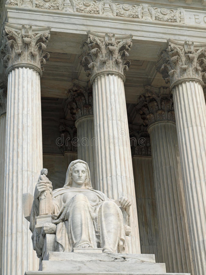 Download The United States Supreme Court Stock Image - Image: 19985811