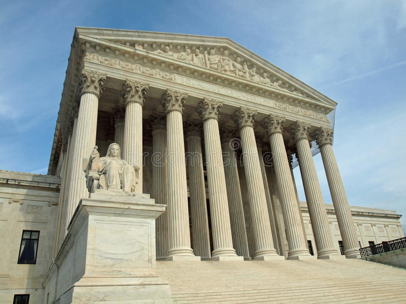 The United States Supreme Court Stock Images