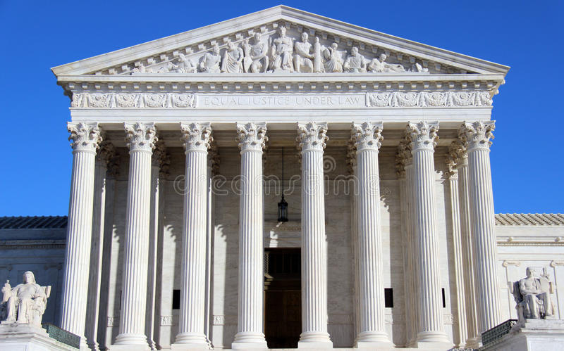 United States Supreme Court stock images