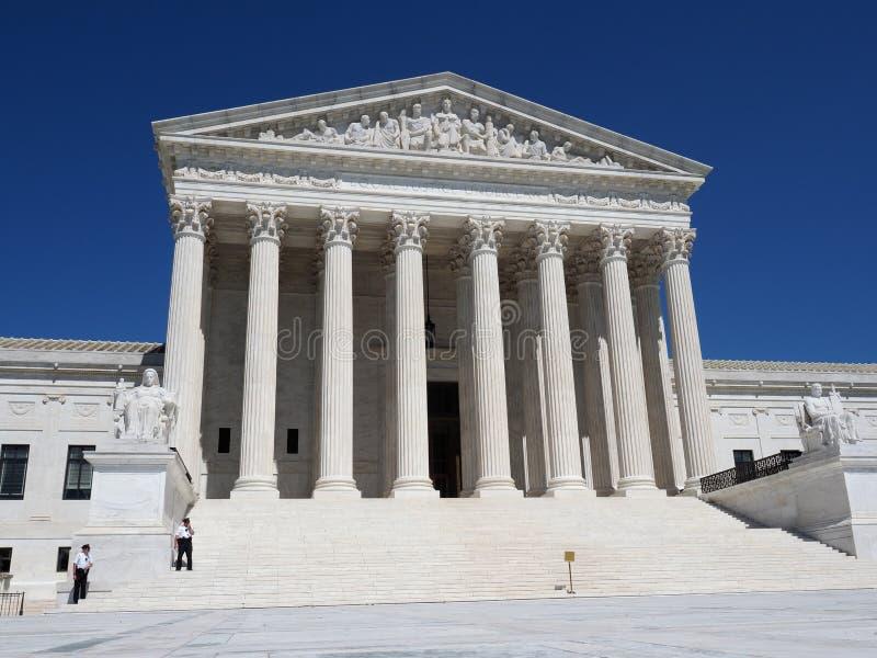 United States Supreme Court. Washington D.C., USA - June 3, 2019: The Supreme Court of the United States, located in Washington D.C stock photos