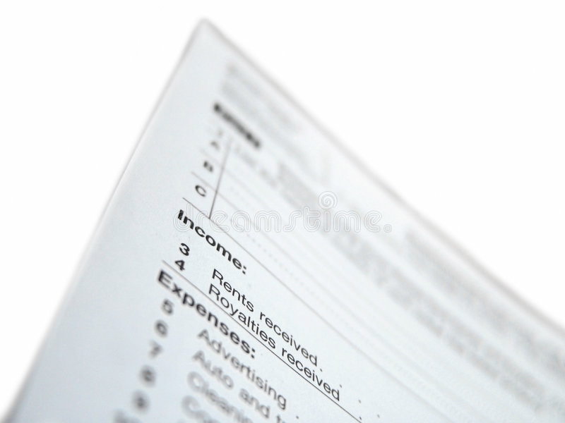 Download United States Tax Form Royalty Free Stock Images - Image: 4339369