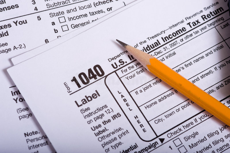 Download United States Tax Forms stock image. Image of letters - 5535951