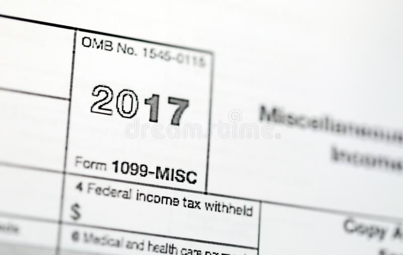 Us Tax Forms Stock Image Image Of Document Annual 107997353