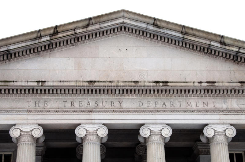 Download United States Treasury Department Stock Image - Image: 12554941