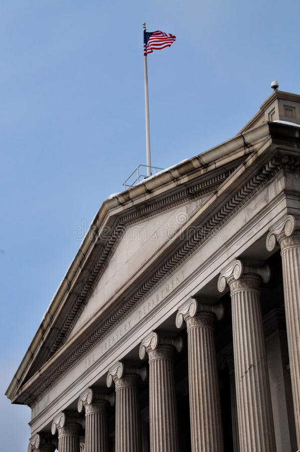Download United States Treasury Department Stock Image - Image: 12568881